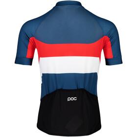 POC Essential Road Maillot avec logo Homme, prismane multi red